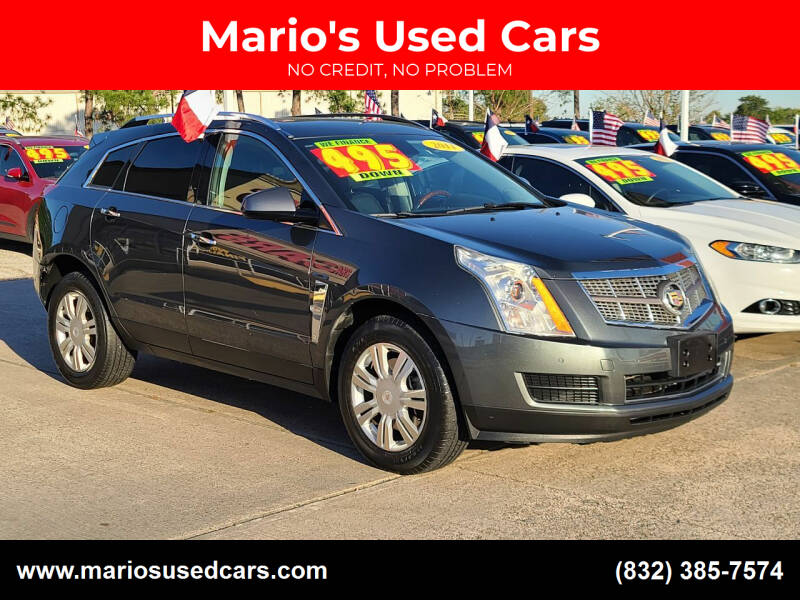 2011 Cadillac SRX for sale at Mario's Used Cars in Houston TX