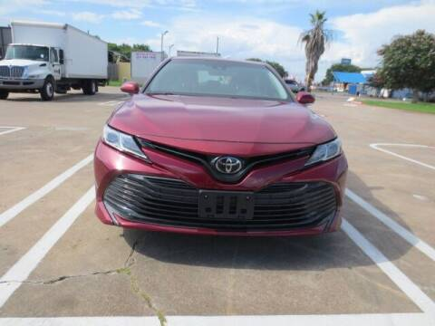 2018 Toyota Camry for sale at MOTORS OF TEXAS in Houston TX