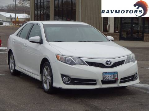 2014 Toyota Camry for sale at RAVMOTORS 2 in Crystal MN