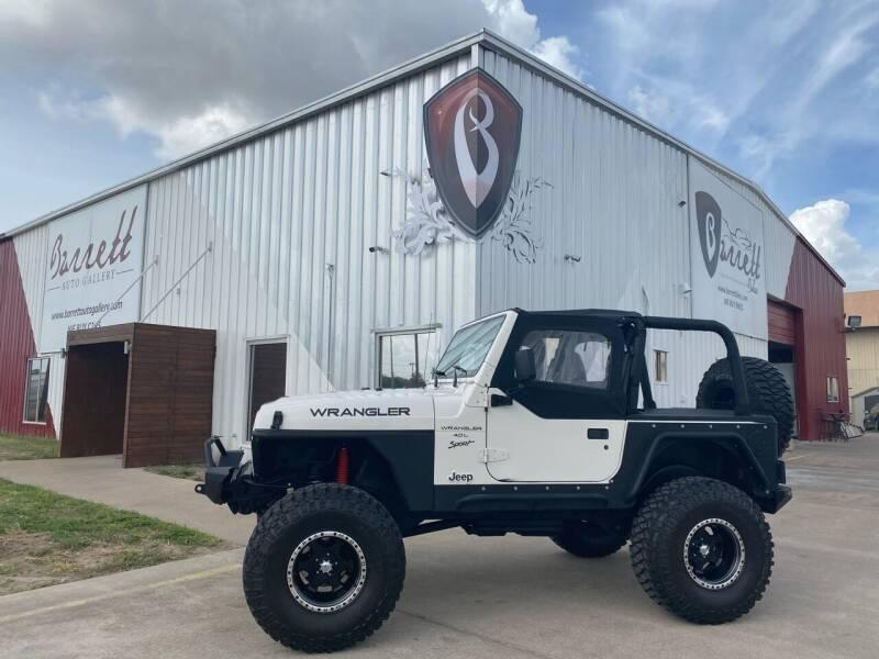 1999 Jeep Wrangler for sale at Barrett Auto Gallery in San Juan TX