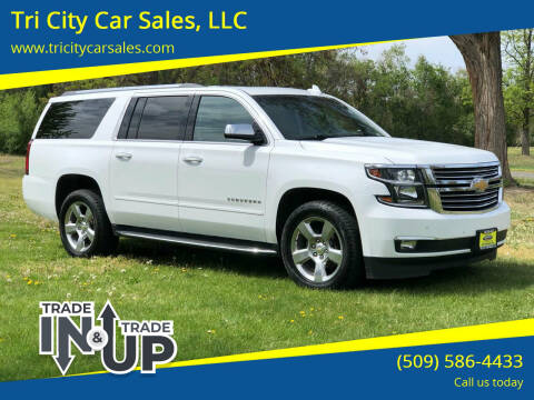 2017 Chevrolet Suburban for sale at Tri City Car Sales, LLC in Kennewick WA