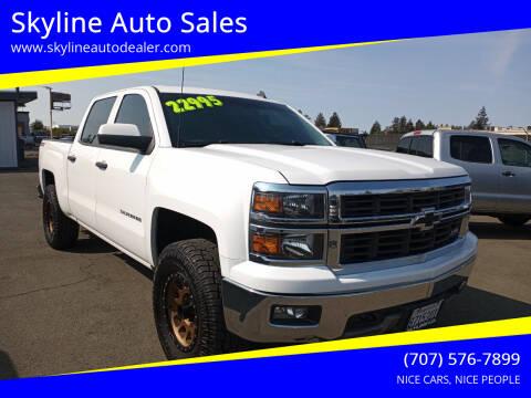 2014 Chevrolet Silverado 1500 for sale at Skyline Auto Sales in Santa Rosa CA