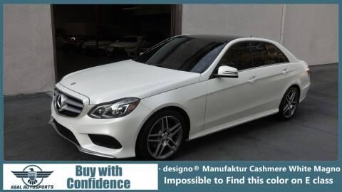 2016 Mercedes-Benz E-Class for sale at ASAL AUTOSPORTS in Corona CA