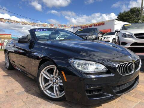 2014 BMW 6 Series for sale at Cars of Tampa in Tampa FL