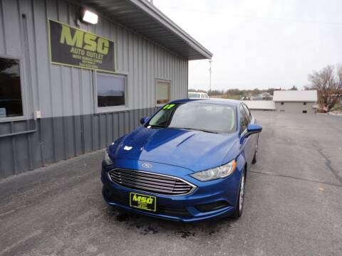2017 Ford Fusion for sale at Moss Service Center-MSC Auto Outlet in West Union IA