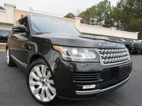 2013 Land Rover Range Rover for sale at North Georgia Auto Brokers in Snellville GA