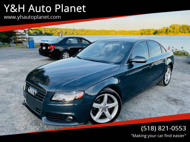 2011 Audi A4 for sale at Y&H Auto Planet in West Sand Lake NY