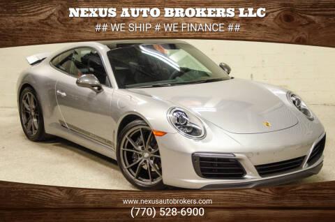 2019 Porsche 911 for sale at Nexus Auto Brokers LLC in Marietta GA