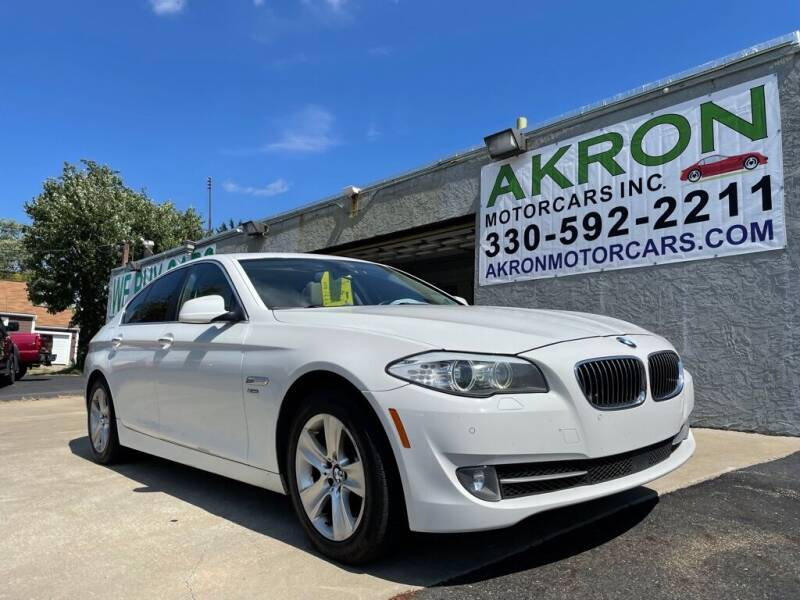 2012 BMW 5 Series for sale at Akron Motorcars Inc. in Akron OH