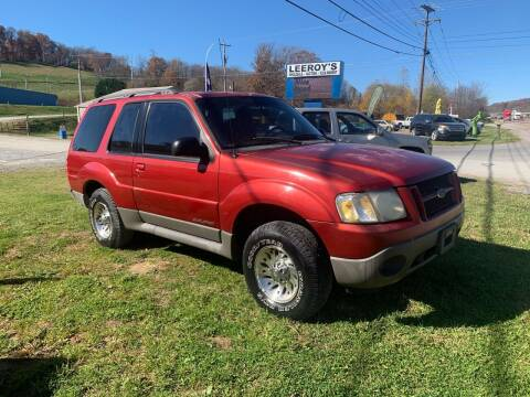 2001 Ford Explorer Sport for sale at ABINGDON AUTOMART LLC in Abingdon VA