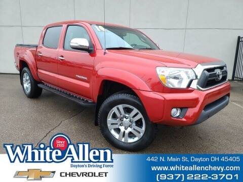 2014 Toyota Tacoma for sale at WHITE-ALLEN CHEVROLET in Dayton OH