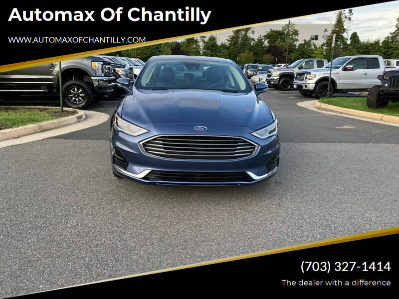 2019 Ford Fusion for sale at Automax of Chantilly in Chantilly VA