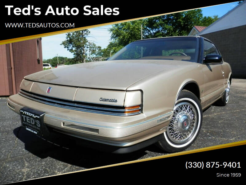 1992 Oldsmobile Toronado for sale in Louisville, OH