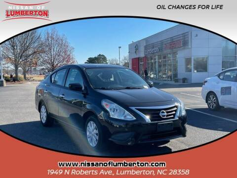 2019 Nissan Versa for sale at Nissan of Lumberton in Lumberton NC