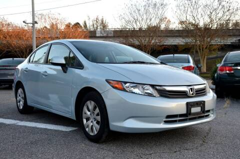 2012 Honda Civic for sale at Prime Auto Sales LLC in Virginia Beach VA