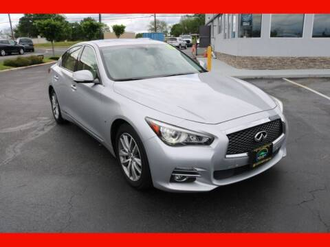 2015 Infiniti Q50 for sale at AUTO POINT USED CARS in Rosedale MD