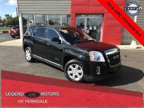 2015 GMC Terrain for sale at Legend Motors of Detroit - Legend Motors of Ferndale in Ferndale MI