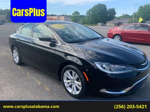 2016 Chrysler 200 for sale at CarsPlus in Scottsboro AL