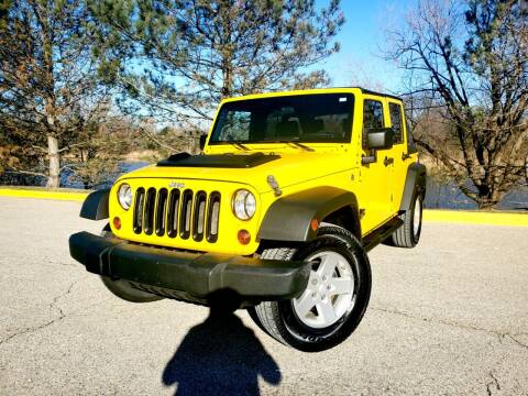 2008 Jeep Wrangler Unlimited for sale at Excalibur Auto Sales in Palatine IL