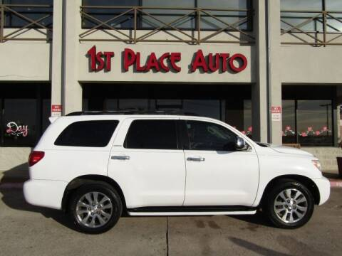 2008 Toyota Sequoia for sale at First Place Auto Ctr Inc in Watauga TX