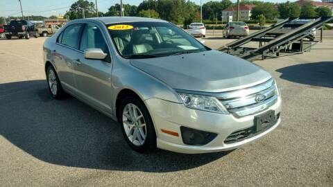 2012 Ford Fusion for sale at Kelly & Kelly Supermarket of Cars in Fayetteville NC