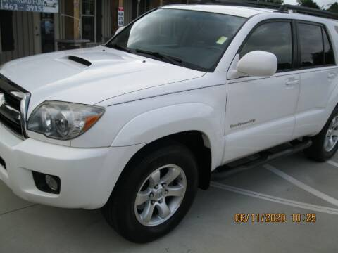 2006 Toyota 4Runner for sale at WALLBURG AUTO SALES LLC in Winston Salem NC