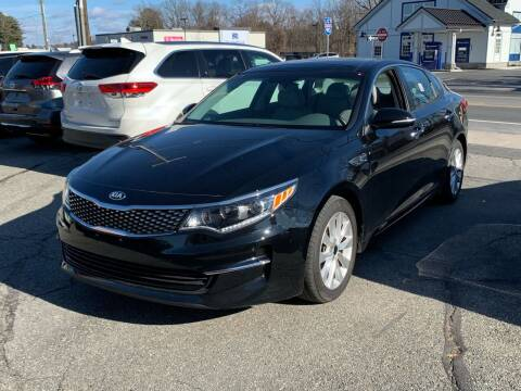 2018 Kia Optima for sale at Ludlow Auto Sales in Ludlow MA