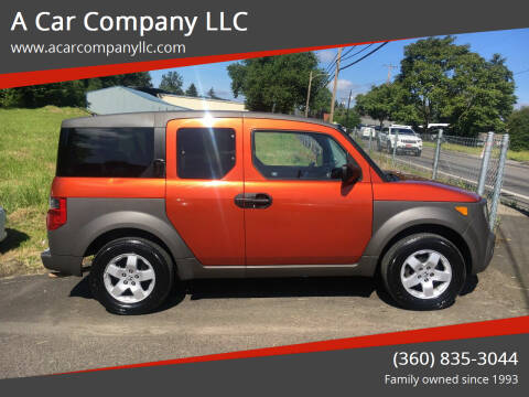 2004 Honda Element for sale at A Car Company LLC in Washougal WA