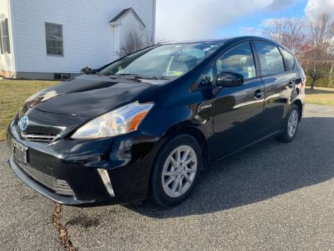 2013 Toyota Prius v for sale at New England Motor Cars in Springfield MA