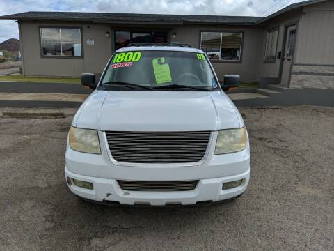 2003 Ford Expedition for sale at Hilltop Motors in Globe AZ