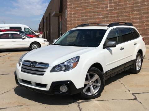 2014 Subaru Outback for sale at Effect Auto Center in Omaha NE