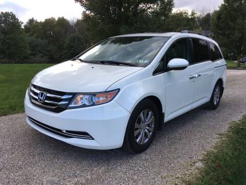 2014 Honda Odyssey for sale at Yoder's Auto Connection LTD in Gambier OH