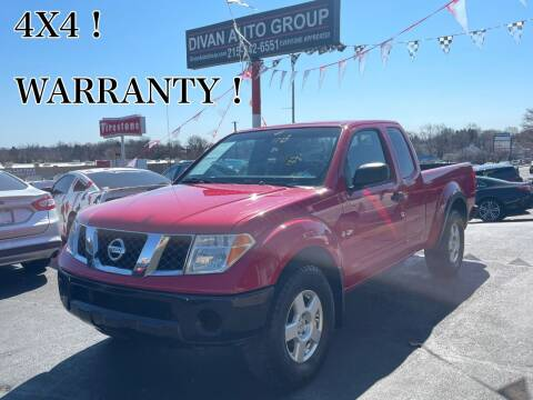 2006 Nissan Frontier for sale at Divan Auto Group in Feasterville PA