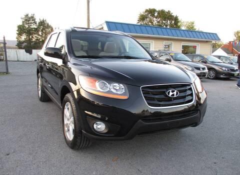 2010 Hyundai Santa Fe for sale at Supermax Autos in Strasburg VA