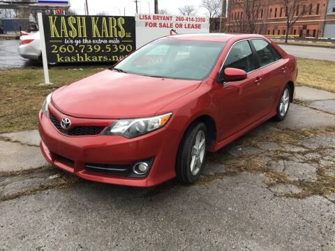 2012 Toyota Camry for sale at Kash Kars in Fort Wayne IN