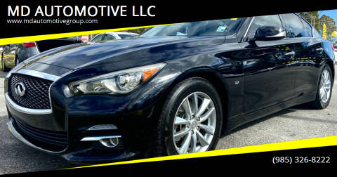 2014 Infiniti Q50 for sale at MD AUTOMOTIVE LLC in Slidell LA