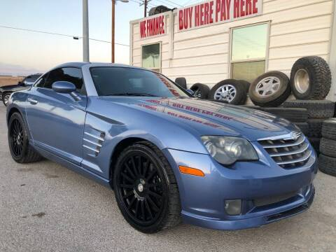 2005 Chrysler Crossfire SRT-6 for sale at Eastside Auto Sales in El Paso TX