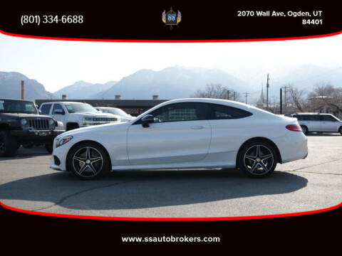 2017 Mercedes-Benz C-Class for sale at S S Auto Brokers in Ogden UT