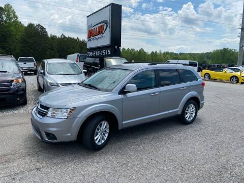 2015 Dodge Journey for sale at Billy Ballew Motorsports in Dawsonville GA