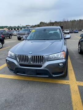 2013 BMW X3 for sale at Innovative Auto Sales in North Hampton NH