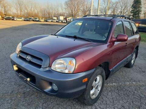 2005 Hyundai Santa Fe for sale at Flex Auto Sales in Cleveland OH