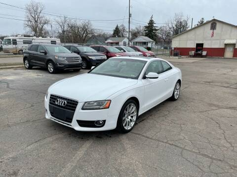 2011 Audi A5 for sale at Dean's Auto Sales in Flint MI