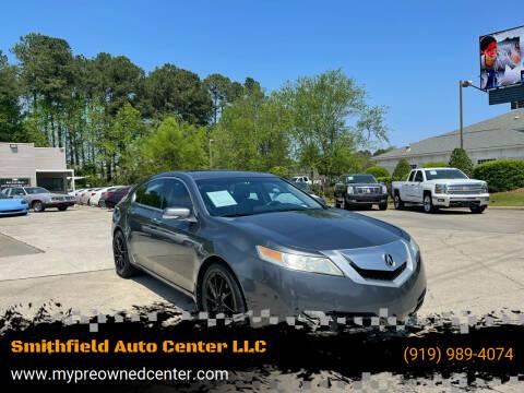 2010 Acura TL for sale at Smithfield Auto Center LLC in Smithfield NC