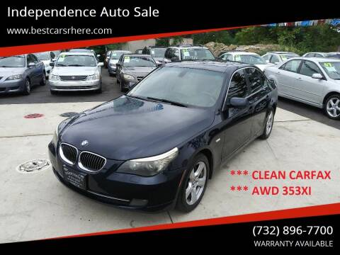 2008 BMW 5 Series for sale at Independence Auto Sale in Bordentown NJ