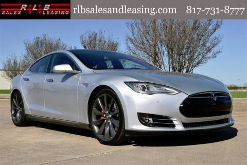 2016 Tesla Model S for sale at RLB Sales and Leasing in Fort Worth TX