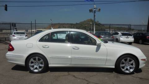 2007 Mercedes-Benz E-Class for sale at Luxor Motors Inc in Pacoima CA