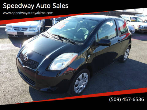 2008 Toyota Yaris for sale at Speedway Auto Sales in Yakima WA