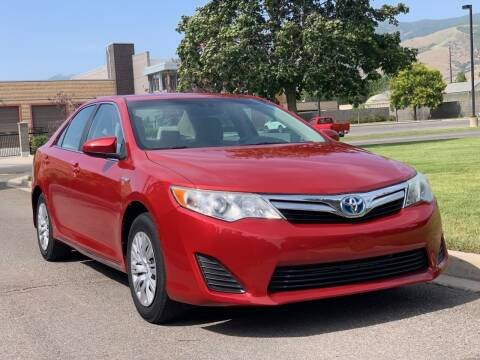 2013 Toyota Camry Hybrid for sale at A.I. Monroe Auto Sales in Bountiful UT