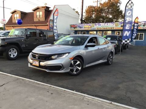 2019 Honda Civic for sale at LA PLAYITA AUTO SALES INC - 3271 E. Firestone Blvd Lot in South Gate CA
