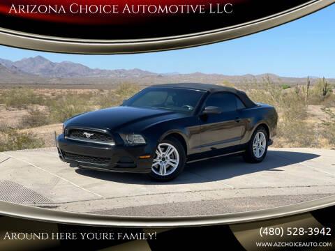 2013 Ford Mustang for sale at Arizona Choice Automotive LLC in Mesa AZ